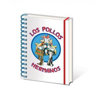 Breaking Bad (Totál Szívás) - Los Pollos Hermanos A5 jegyzetfüzet