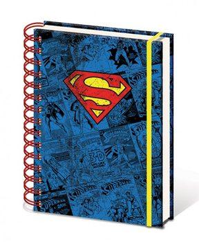 Dc Comics A5 Notebook - Superman  jegyzetfüzet