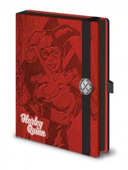 DC Comics - Harley Quinn Premium A5 Notebook  jegyzetfüzet