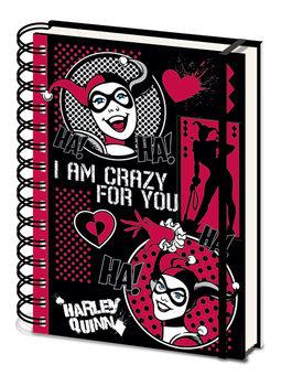 Jegyzetfüzet Harley Quinn - I Am Crazy For You