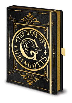 Jegyzetfüzet Harry Potter - Gringotts