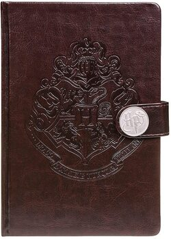 Jegyzetfüzet Harry Potter - Hogwarts Crest / Clasp Premium