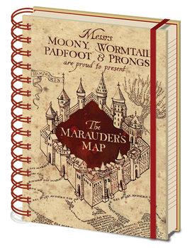 Jegyzetfüzet Harry Potter - The Marauders Map