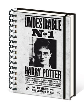 Harry Potter - Undesirable No1 jegyzetfüzet