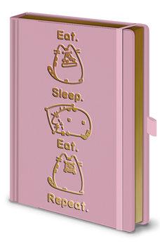 Jegyzetfüzet Pusheen - Eat. Sleep. Eat. Repeat.