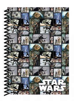 Star Wars - Blocks A5 Soft Cover Notebook jegyzetfüzet