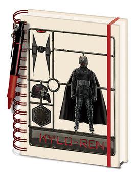 Jegyzetfüzet Star Wars: Skywalker kora - Airfix Kylo
