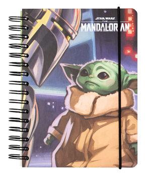 Jegyzetfüzet Star Wars: The Mandalorian