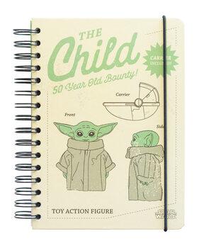 Jegyzetfüzet Star Wars: The Mandalorian - The Child