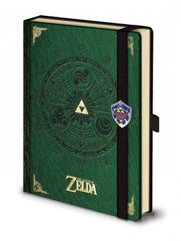 The Legend Of Zelda - Premium A5 Notebook jegyzetfüzet