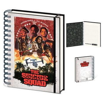 Jegyzetfüzet The Suicide Squad (Jungle)