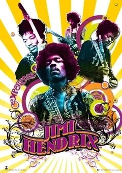 JIMI HENDRIX - плакат (poster)
