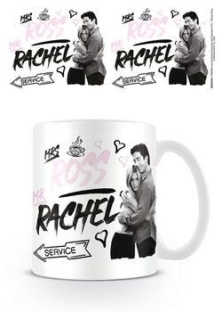 Csésze Jóbarátok - Mrs Ross Mr Rachel