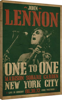 Leinwand Poster John Lennon - Concert