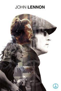 John Lennon - Double Exposure - плакат (poster)