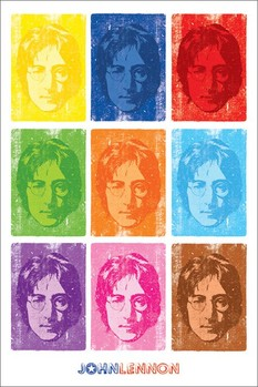 John Lennon - pop art плакат
