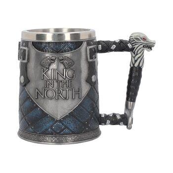 Taza Juego de Tronos (Game Of Thrones) - King in the North