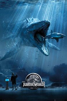 Jurassic World - Mosa-One-Sheet - плакат (poster)