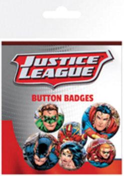 Κονκάρδες πακέτο Justice League - Group