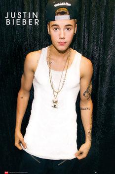 Justin Bieber - cap - плакат (poster)