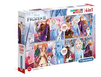 Puzzle Ľadové kráľovstvo 2