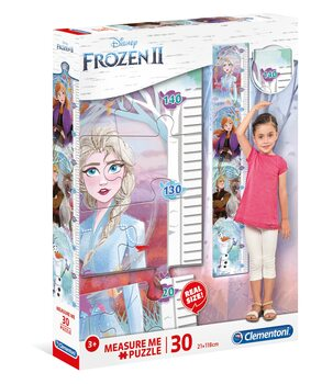Puzzle Ľadové kráľovstvo 2 - Measure Me