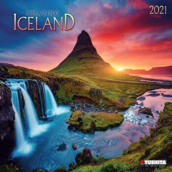 Kalendář 2021 Amazing Iceland