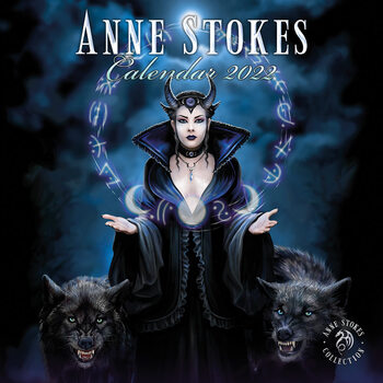Kalendár 2022 Anne Stokes