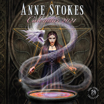 Kalendár 2021 Anne Stokes