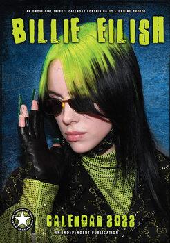 Kalendár 2022 Billie Eilish