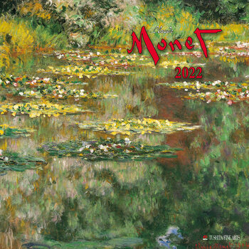 Kalendár 2022 Claude Monet