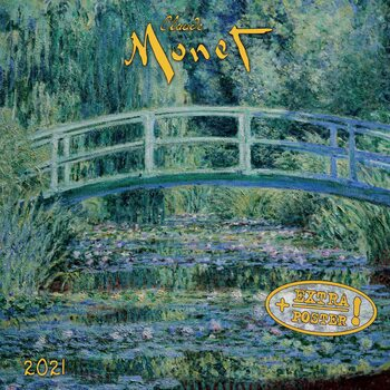 Kalendár 2021 Claude Monet