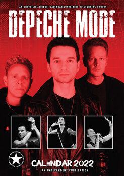 Kalendář 2022 Depeche Mode