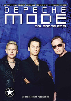 Kalendář 2021 Depeche Mode