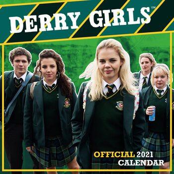 Kalendář 2021 Derry Girls