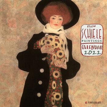 Kalendár 2022 Egon Schiele - Paintings