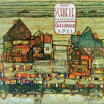 Kalendár 2021 Egon Schiele - Paintings