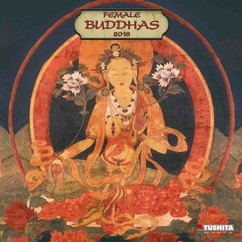 Kalendár 2021 Female Buddhas