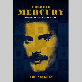 Kalendár 2022 Freddie Mercury