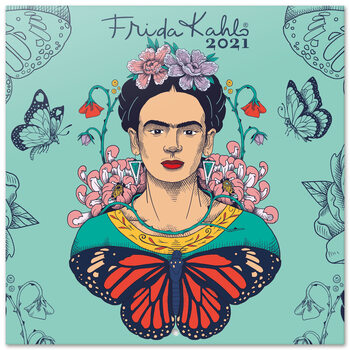 Kalendár 2021 Frida Kahlo