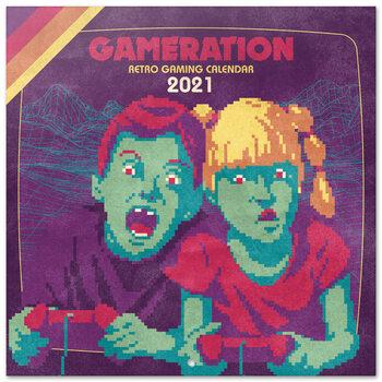 Kalendár 2021 Gameration