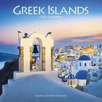 Kalendár 2022 Grecke ostrovy