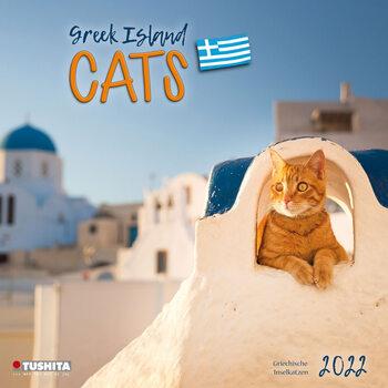 Kalendár 2022 Greek Island Cats