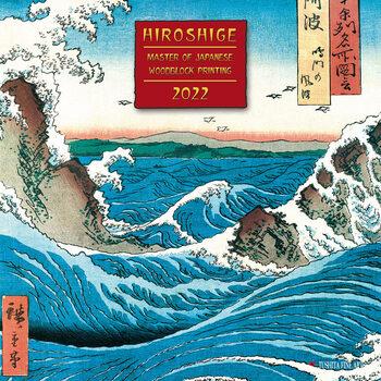 Kalendár 2022 Hiroshige - Japanese Woodblock Printing