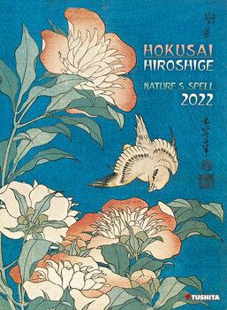 Kalendár 2022 Hokusai/Hiroshige - Nature's Spell