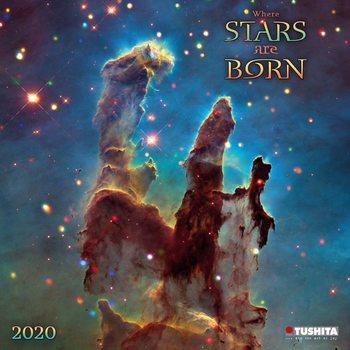 Kalendář 2021 Hvězdy