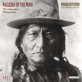 Kalendář 2021 Indiáni - Walkers of the Wind