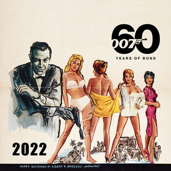 Kalendár 2022 James Bond - No Time to Die