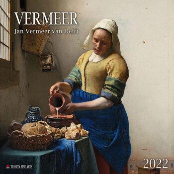 Kalendár 2022 Jan Vermeer van Delft
