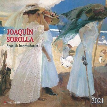 Kalendár 2021 Joaquín Sorolla - Spanisch Impressionist